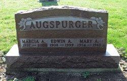Mary <i>Ballinger</i> Augspurger