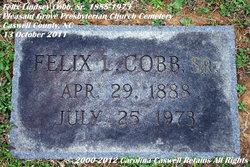 Felix Lensey Cobb, Sr