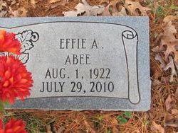 Effie Mae <i>Abernathy</i> Abee