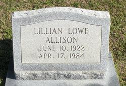 Lillian <i>Lowe</i> Allison