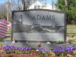 Evelyn D. <i>Draper</i> Adams