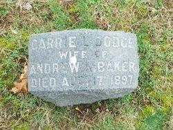 Caroline Little Carrie <i>Dodge</i> Baker