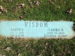 Clarence Oakley Wisdom