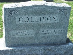 Alice M. <i>Stephens</i> Collison