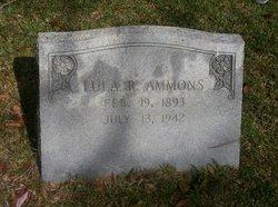 Lula <i>Richardson</i> Ammons