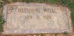 Missouri S. <i>Cooper</i> Wells