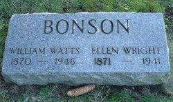 Ellen Elizabeth <i>Wright</i> Bonson
