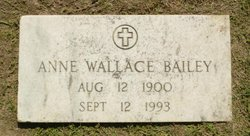 Anne Louise <i>Wallace</i> Bailey