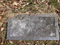 Ada <i>Sampson</i> Peyton