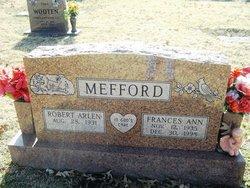 Frances Ann <i>Miller</i> Mefford