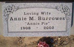 Annie M. Burrowes