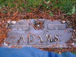 Gladys B <i>Morris</i> Adams