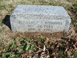 Florence E. Bowman