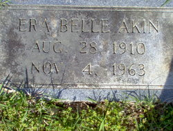 Era Belle <i>Watkins</i> Akin