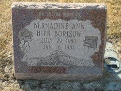 Bernadine Ann <i>Hieb</i> Borisow