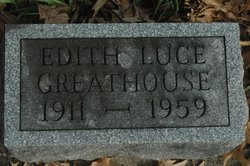 Edith <i>Luce</i> Greathouse