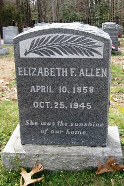 Elizabeth F Allen