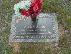 Alice V. <i>Kinley</i> Adair