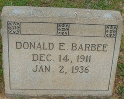Donald Earl Barbee