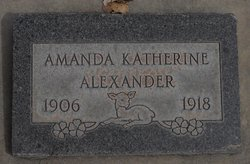 Amanda Katherine Alexander