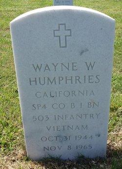 Wayne Warren Humphries