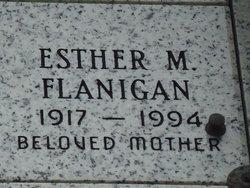 Esther Mae <i>Greenup</i> Flanigan