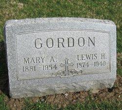 Mary A. <i>Clark</i> Gordon