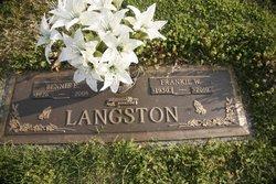 Bennie e. Langston