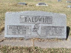 Betty Sophia <i>Nelson</i> Baldwin