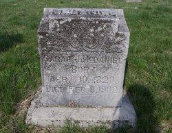 Sarah Jane <i>Curren</i> McDaniel