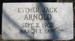 Esther <i>Jack</i> Arnold