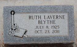Ruth LaVerne <i>Dixon</i> Blythe