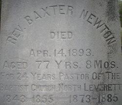 Rev Baxter Newton