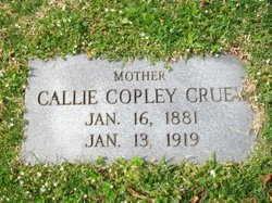 Callie Copley <i>Johnson</i> Cruey