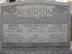 Bertha Frances <i>Smith</i> Robinson