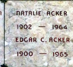 Natalie <i>Tieburg</i> Acker
