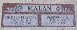 Mildred <i>Blaylock</i> Malan