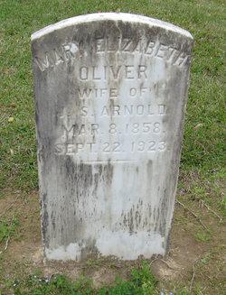 Mary Elizabeth <i>Oliver</i> Arnold