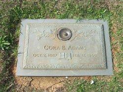 Cora <i>Bumgarner</i> Adams