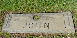 Bertha C <i>Lorenz</i> Jolin