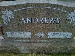 Christine Elizabeth <i>Lewis</i> Andrews