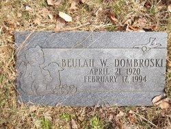 Beulah W Dombrowski