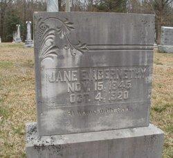 Jane E Abernethy