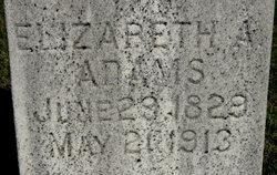 Elizabeth A. <i>Dean</i> Adams