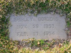 Shirley F Borders