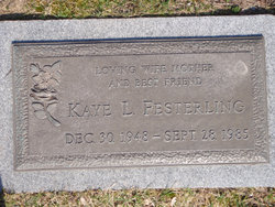 Kaye L. <i>Berger</i> Festerling