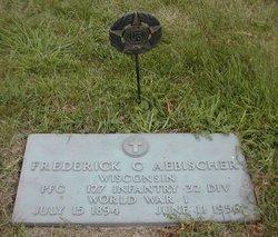 Frederick C Aebischer