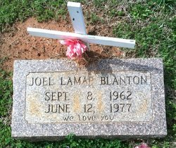 Joel Lamar Blanton