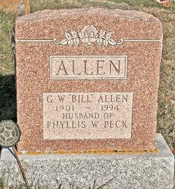 G W Bill Allen