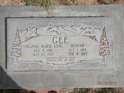 Virginia Marie <i>Long</i> Gee